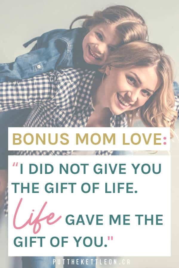 Bonus Mom Love quote