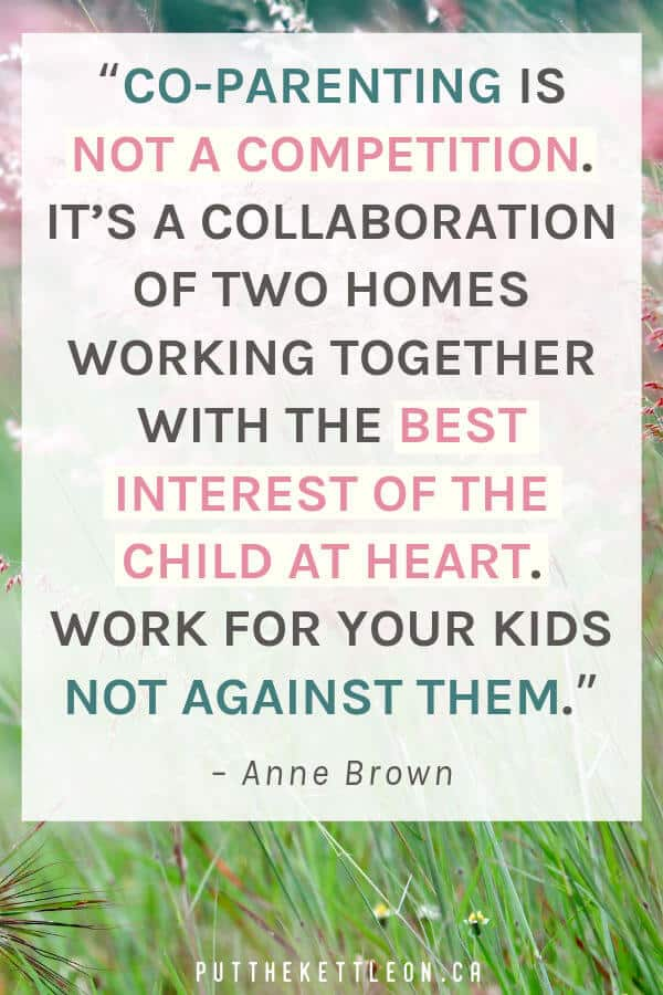 Co-parenting quote