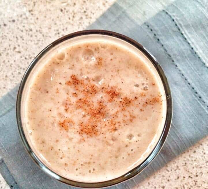 Spiced pear smoothie. This cinnamon and nutmeg spiced pear smoothie is perfect for breakfast, a healthy snack on the go or a healthy treat. Learn how to make it now!