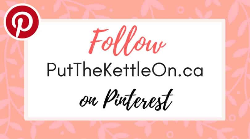 Follow Put The Kettle On on Pinterest