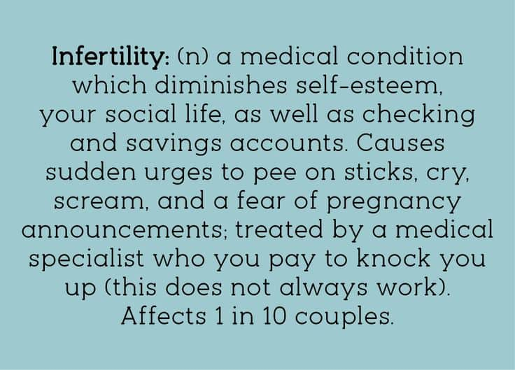 The Funny Side of Infertility