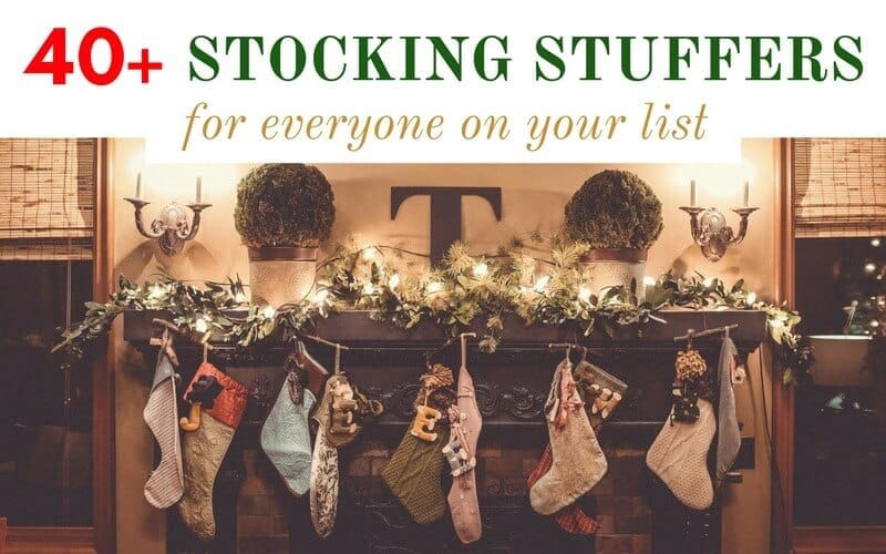 40+ Stocking Stuffers For Everyone On Your List