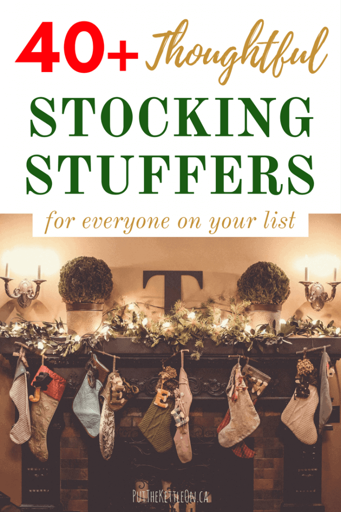 Need some unique stocking stuffer ideas? Check out this useful list of awesome gifts perfect for family or friends during Christmas and all year long.