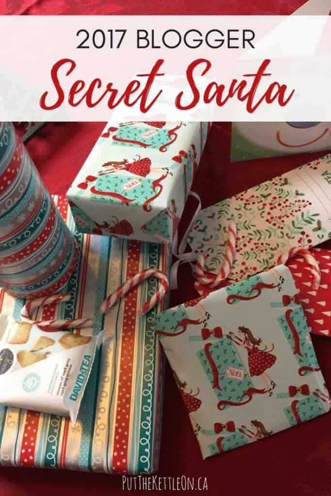 2017 Blogger Secret Santa - Tis the Season for Connecting with Bloggers.