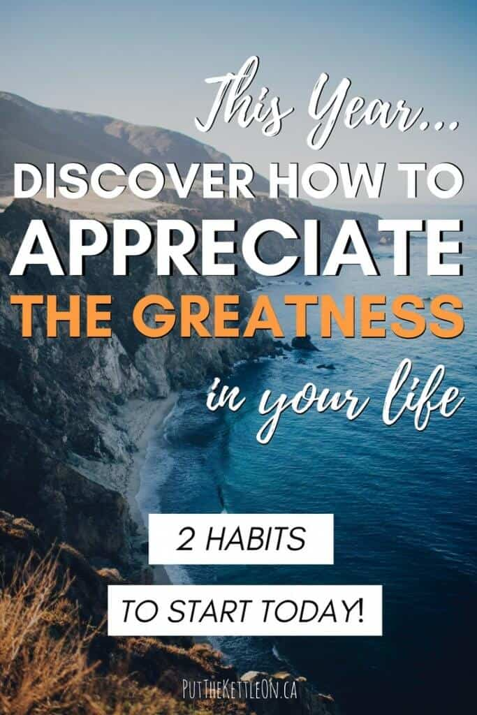 How to Appreciate The Greatness in Your Life
