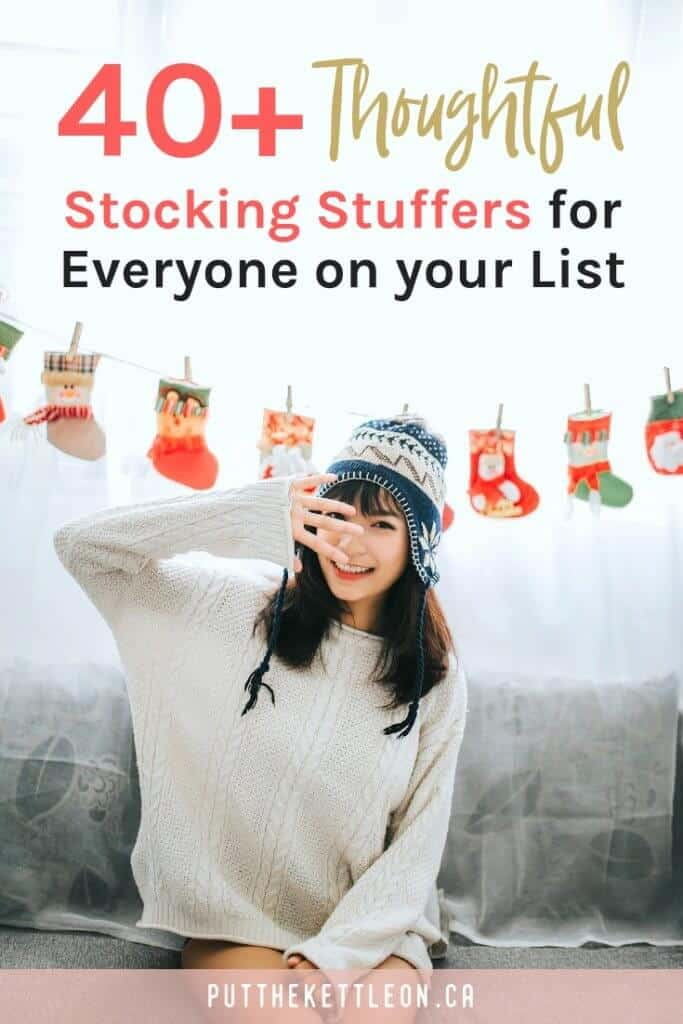Need some unique stocking stuffer ideas? Check out this useful list of great gifts perfect for him or her during the holidays and all year long.