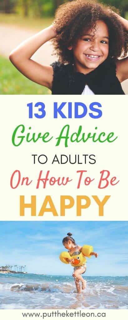 Happiness Advice from the Kids in Our Lives