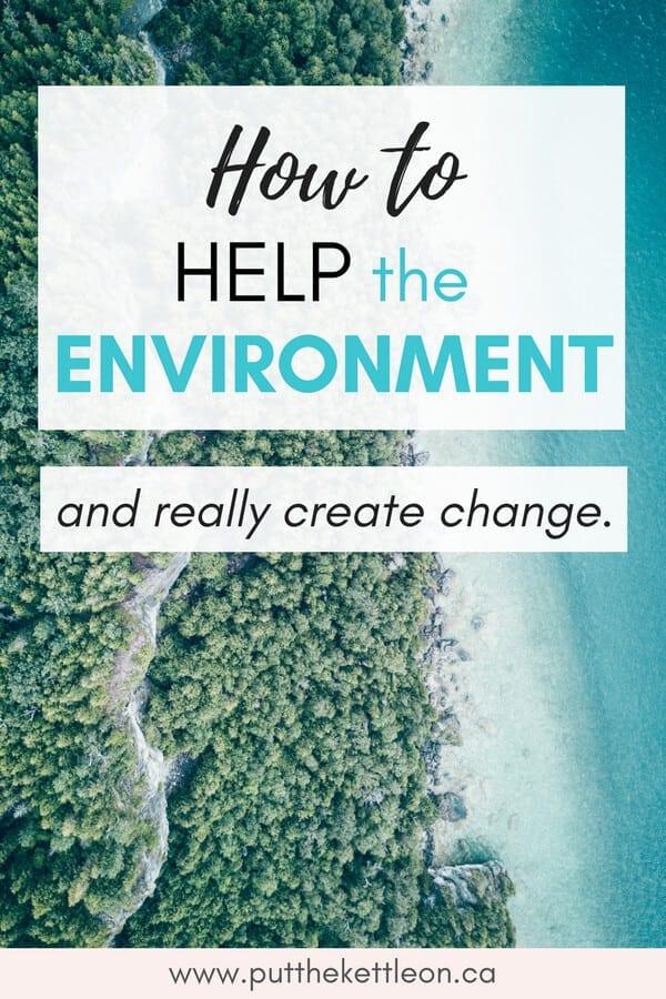 How to Help the Environment and Really Create Change