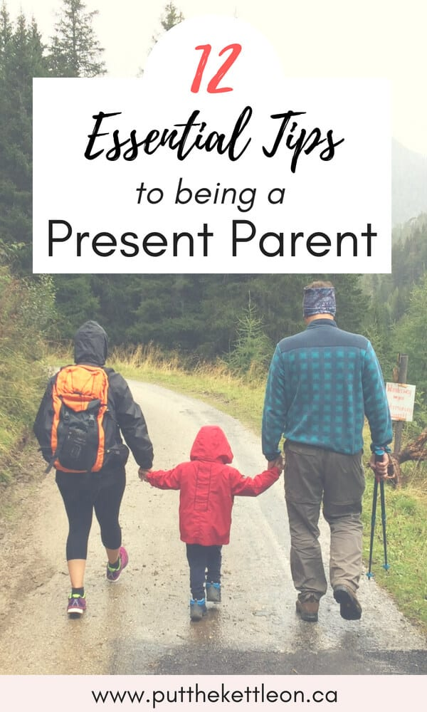 Are you looking for ways to be more present and mindful in your parenting? These positive parenting tips will help you become more present with your kids on a daily basis - bringing more joy into your home.