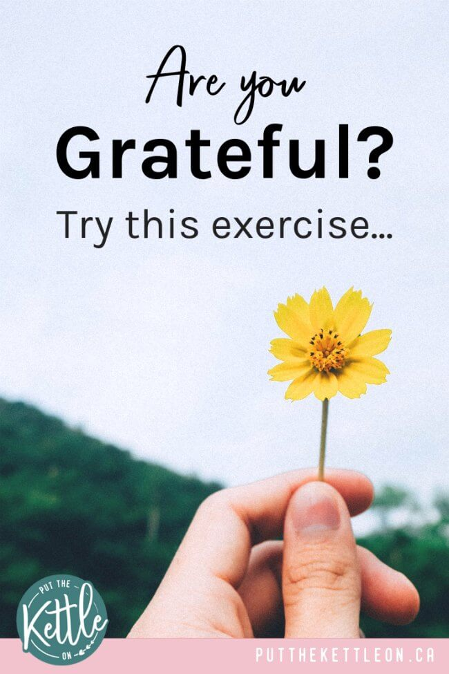 Are you grateful? Try this exercise... and learn the Importance of gratitude and how to be grateful in life