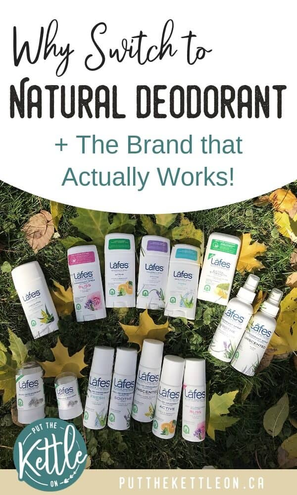 Why Switch to Natural Deodorant + A Brand That Actually Works!