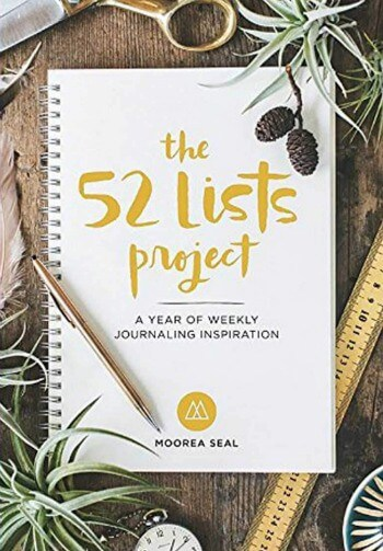 The 52 Lists Project. A year of weekly journaling inspiration.