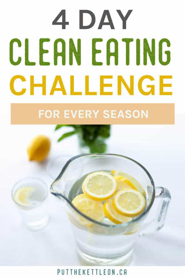 4 day clean eating challenge for every season