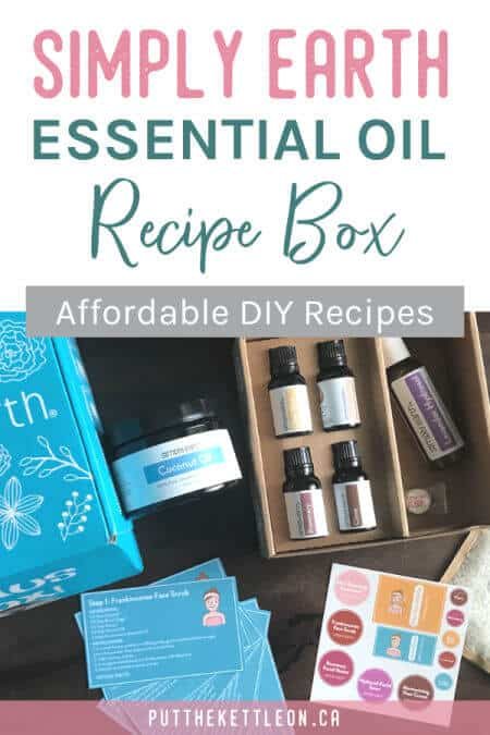 Simply Earth Essential Oil Recipe Box Review (1)
