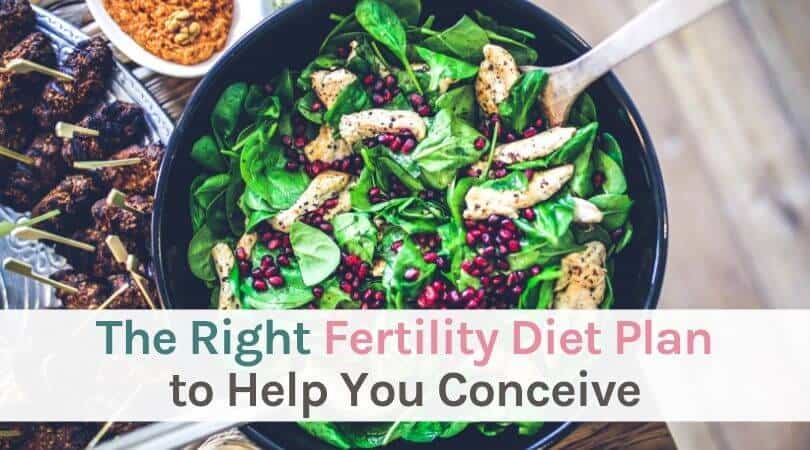 The right fertility diet plan to help you conceive