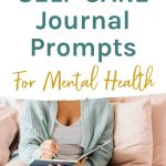 30 self care journal prompts for mental health