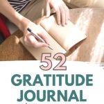 52 gratitude journal prompts
