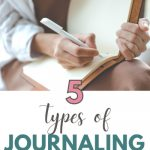 5 types of journaling for mental health
